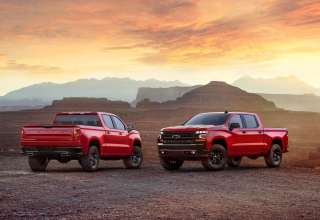 Chevrolet Silverado LT Z71 2019 Wallpaper