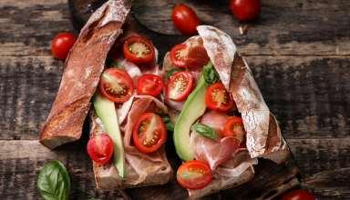 Sandwich Wallpaper