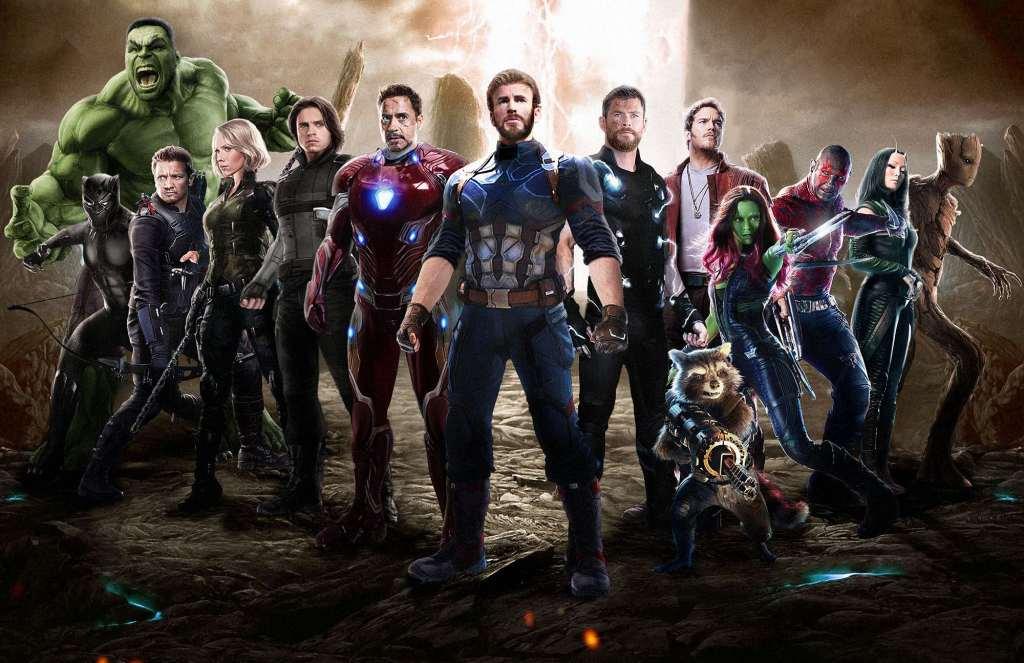 Avengers: Infinity War 2018 Movie Fan Art Wallpaper - تانی کال