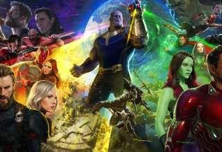 Avengers: Infinity War Captain America, Spiderman, Hawkeye Wallpaper