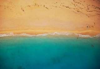 Beach Shoreline Wallpaper