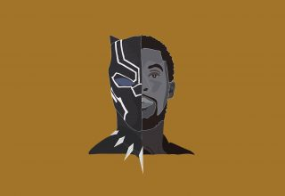 Black Panther 2018 Minimalism Wallpaper