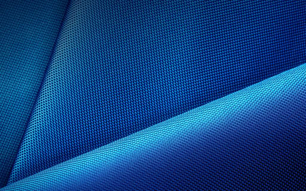 Blue Fabric Pattern Wallpaper