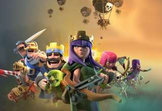 Clash of Clans & Clash Royale Supercell Games Wallpaper