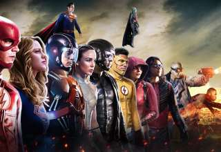 DC CW All Superheroes Wallpaper