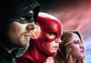 DC TV Arrow Flash Supergirl Wallpaper