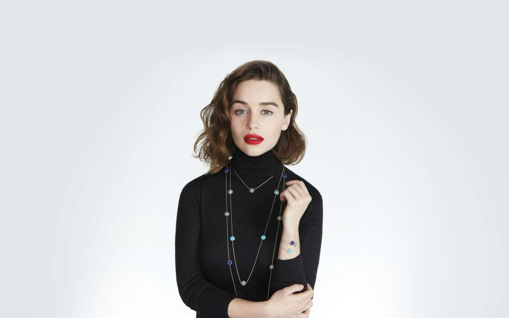 Emilia Clarke Dior Wallpaper