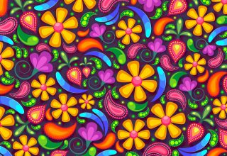 Flowers Art Colorful Wallpaper