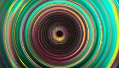 Green Color Waves 4k Wallpaper
