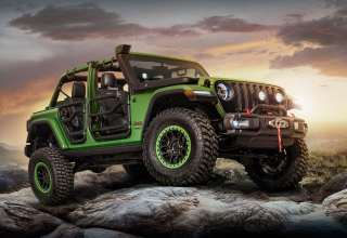 Jeep Wrangler Unlimited Rubicon Moparized 2018 Wallpaper