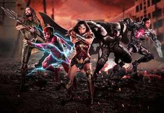 Justice League 2017 Artwork Wallpaper