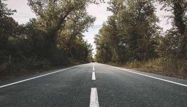 Landscape Photography of Concrete Road Wallpaper