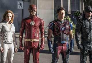 Legends of Tomorrow Season 3 Nate Heywood, Sara Lance, Arrow, Flash Wallpaper