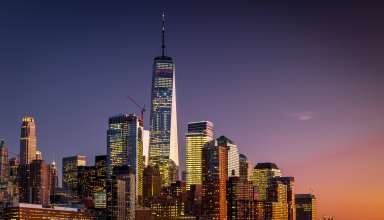 Manhattan New York USA Skyscrapers Wallpaper
