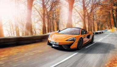 McLaren 570S Pirelli MC Sottozero 3 Winter Tires 4k Wallpaper