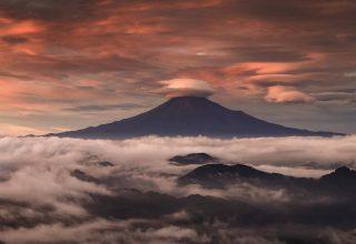 Mount Fuji Clouds Wallpaper