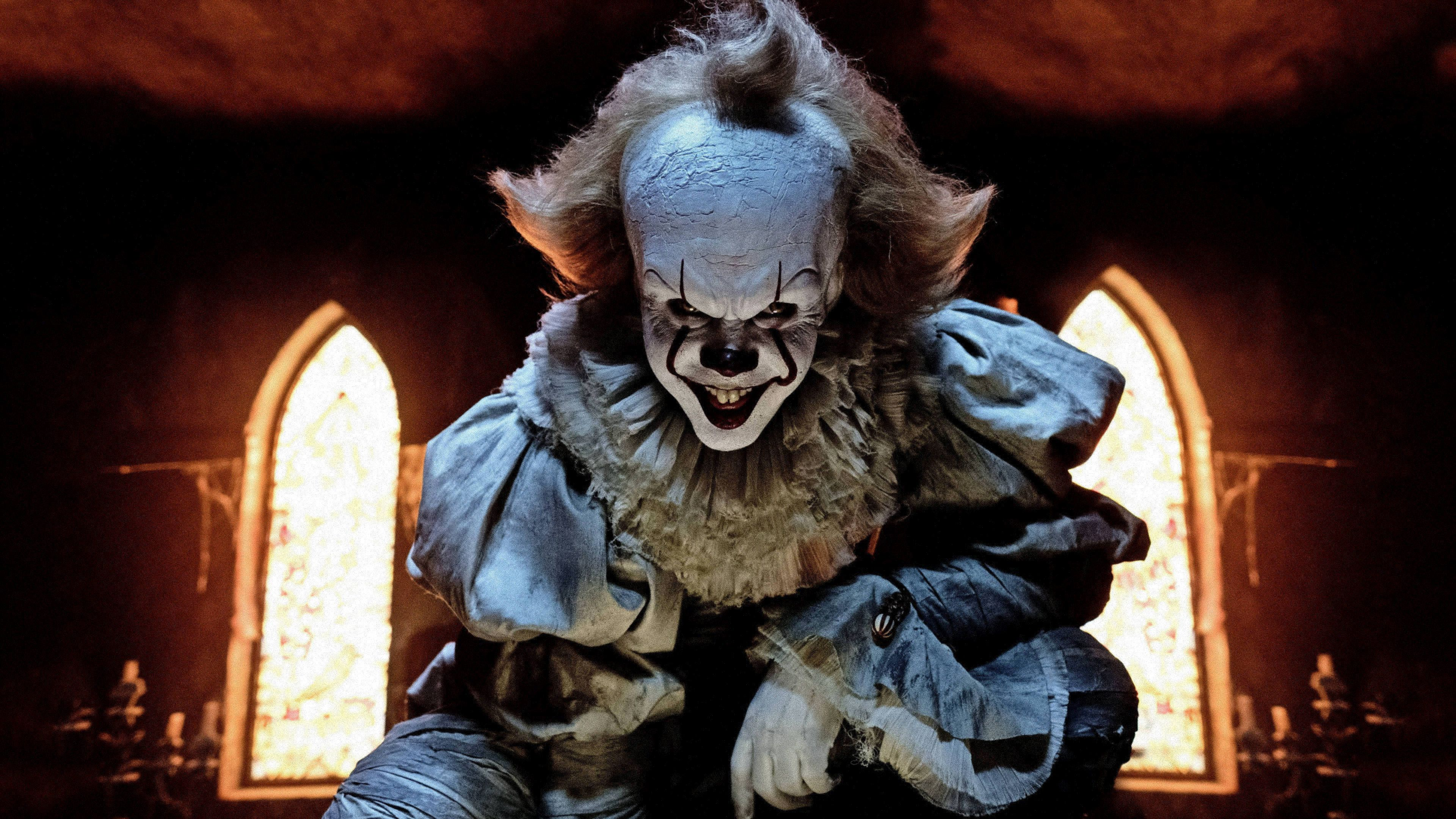 Pennywise The Clown In It 2017 Wallpaper