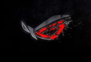 Republic of Gamers 3D Logo Wallpaper