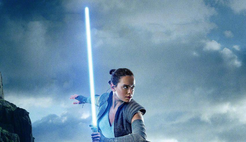 Rey in Star Wars: The Last Jedi Wallpaper