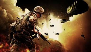 Soldiers War Battlefield Explosion Wallpaper