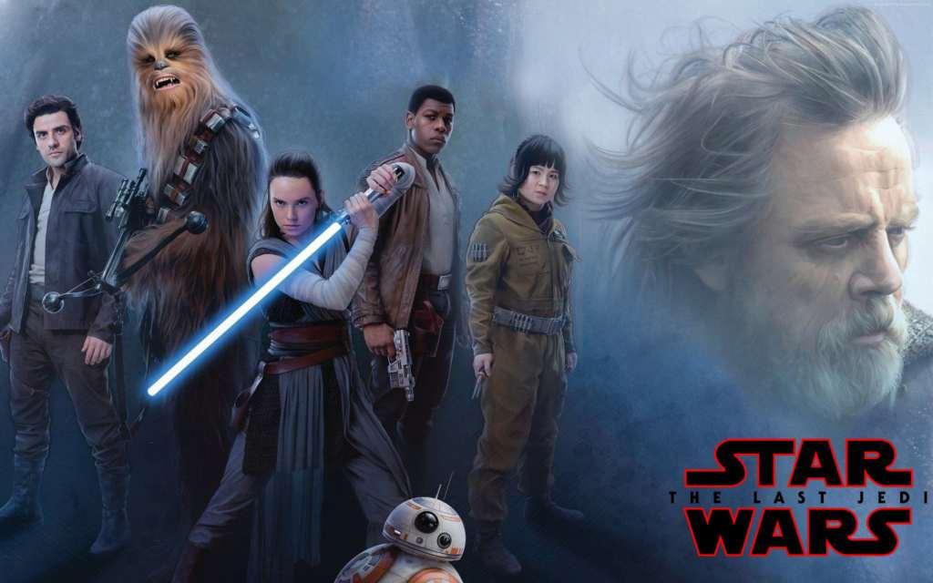 Star Wars: The Last Jedi Daisy Ridley, John Boyega Poster