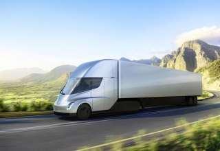 Tesla Semi Truck Electric Car 4k Wallpaper