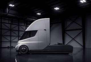Tesla Semi Truck Electric Car Wallpaper