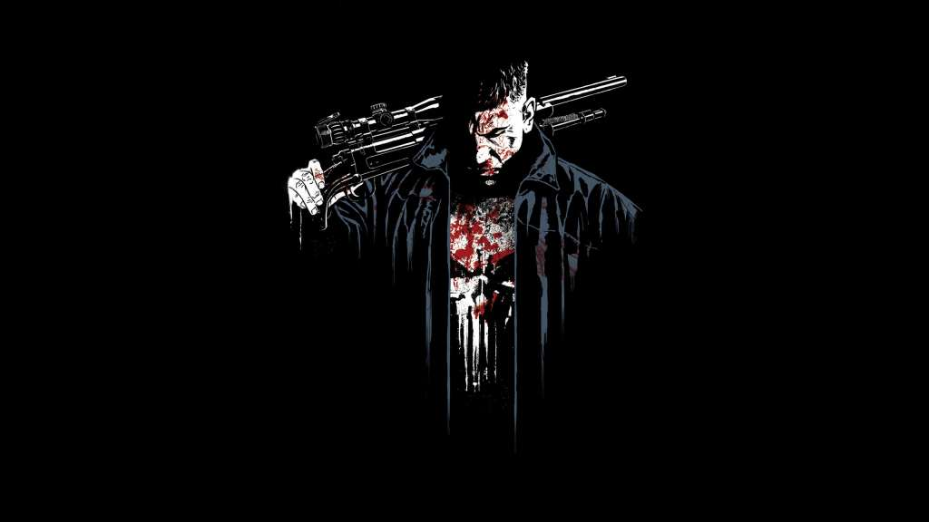 The Punisher Digital Art Wallpaper