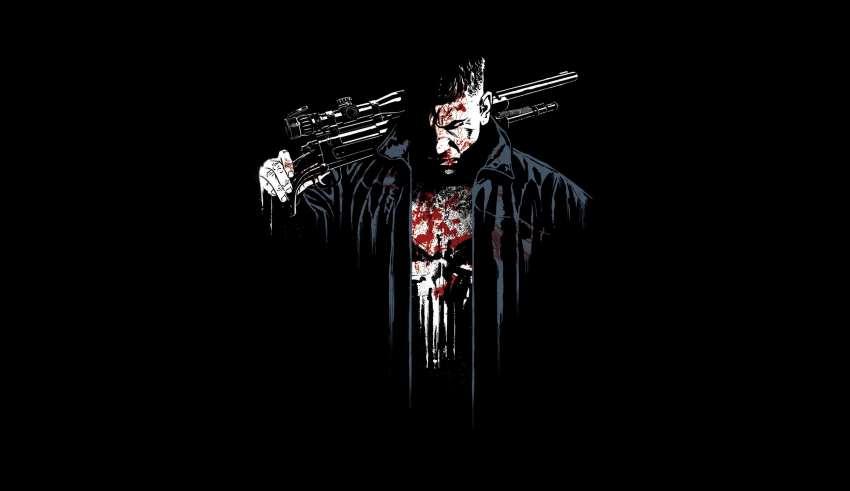 The Punisher Digital Art Wallpaper