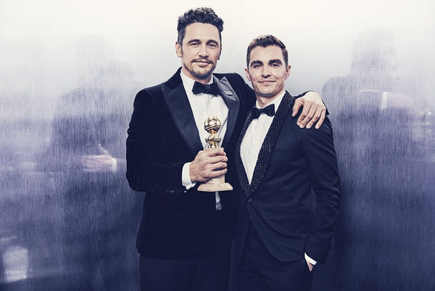 James Franco (in the photo with Dave Franco), Best Performance by an Actor in a Motion Picture, Musical or Comedy- The Disaster Artist