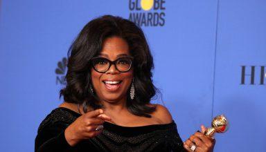 Oprah Winfrey 4k - Golden Globe 2018