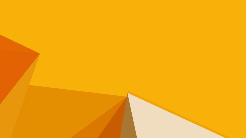 Abstract Orange Shapes Wallpaper