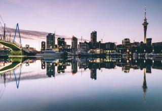 Auckland New Zealand Port Yachts Buildings Wallpaper