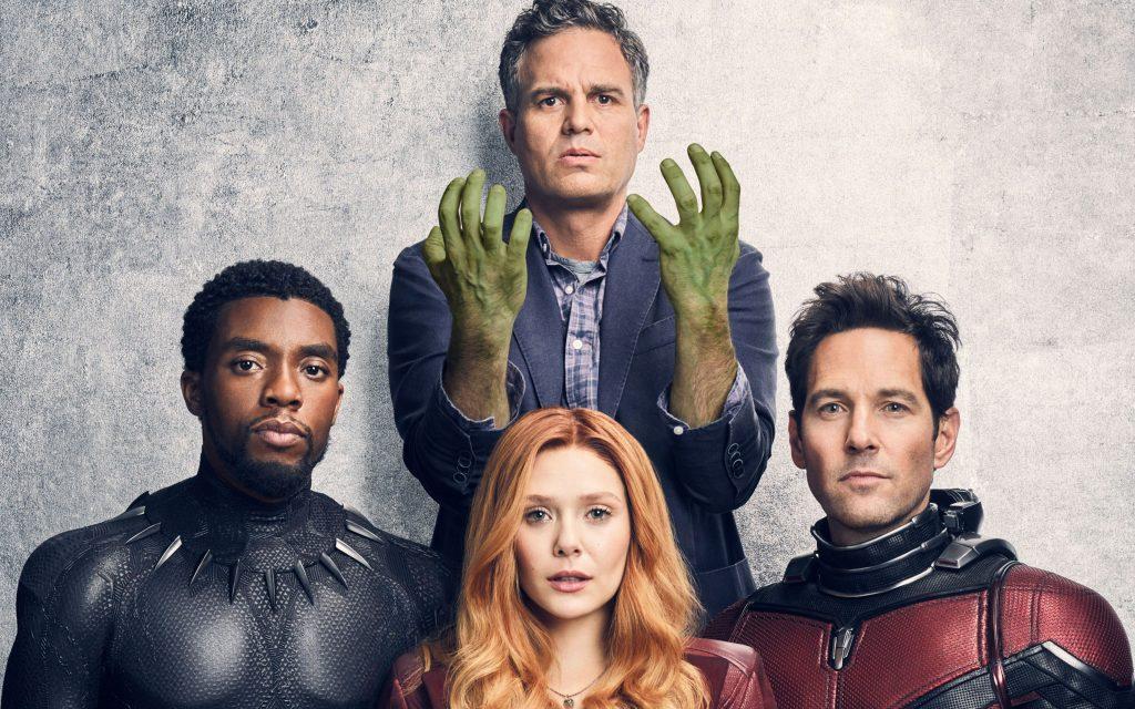Avengers: Infinity War Black Panther, Hulk, Scarlet Witch, Ant Man Wallpaper