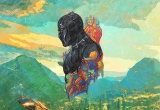 Black Panther Promo Art Wallpaper