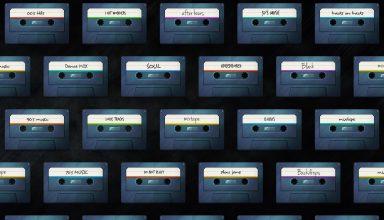 Cassette Abstract Wallpaper