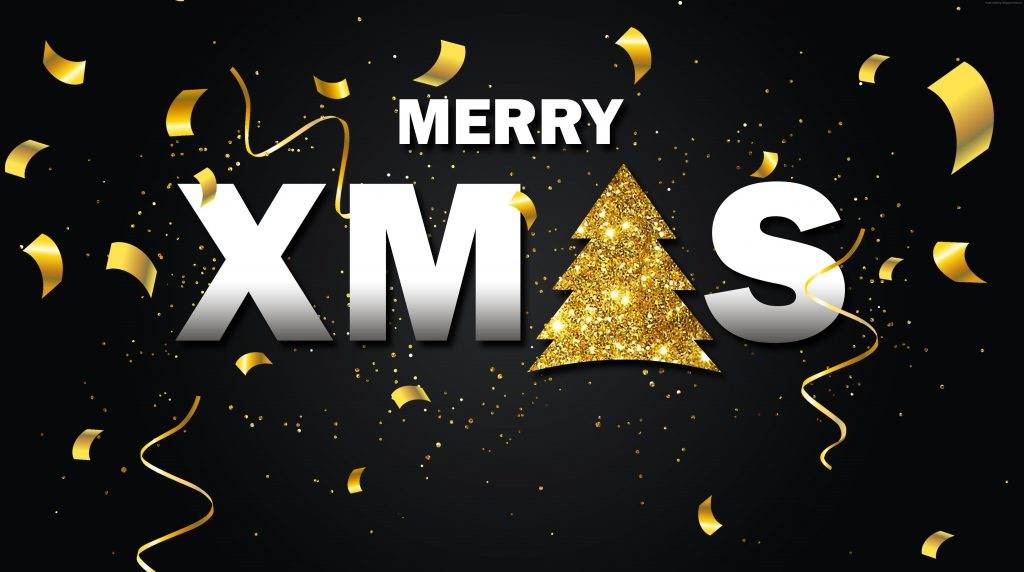 Christmas New Year Fir Tree Decorations 5k Wallpaper