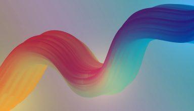 Colorful Curve 4k Wallpaper