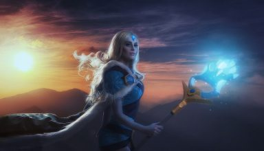 Crystal Maiden Dota 2 Wallpaper