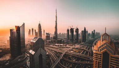 Dubai Cityscape Wallpaper