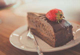 Food Plate Chocolate Dessert Wallpaper