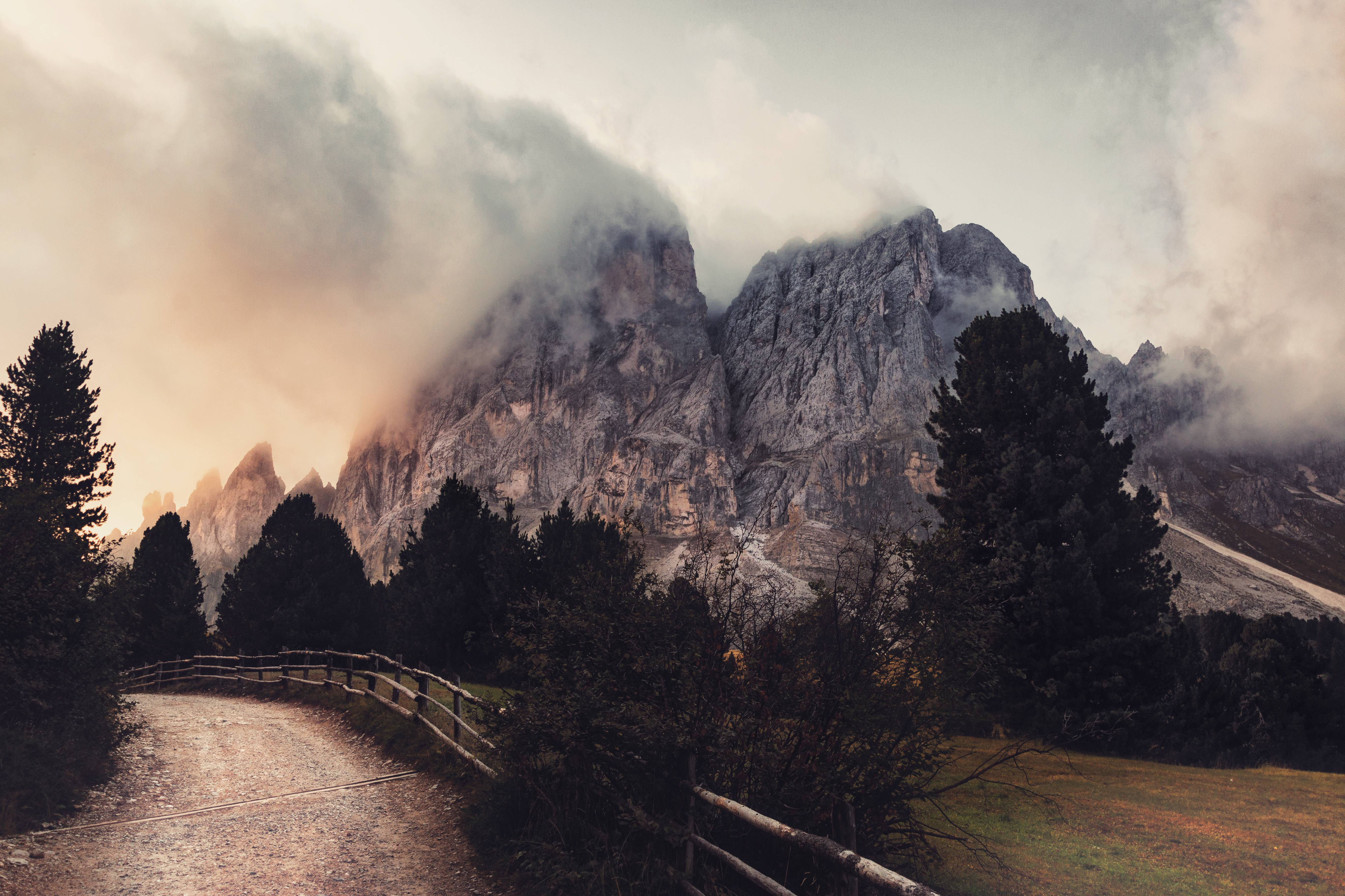 Most Inspiring Wallpaper Mountain Grey - grey-mountain-near-trees  Photograph_111957.jpg