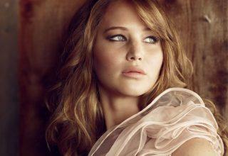 Jennifer Lawrence Glamour UK 4k Wallpaper
