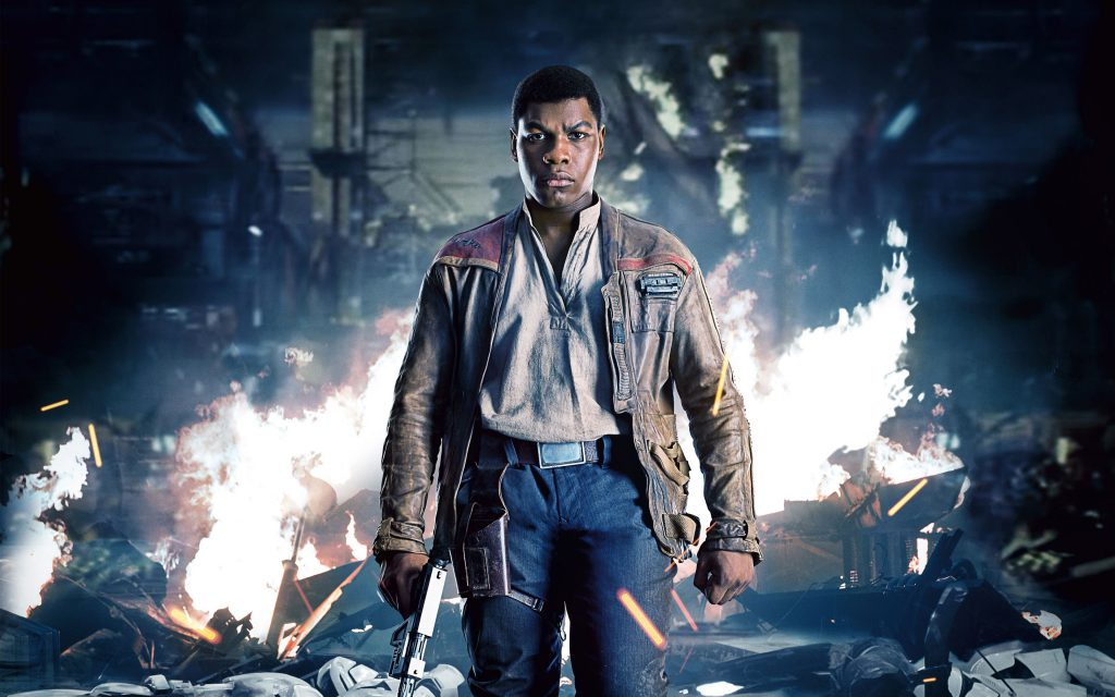 John Boyega As Finn Star Wars: The Last Jedi Wallpaper