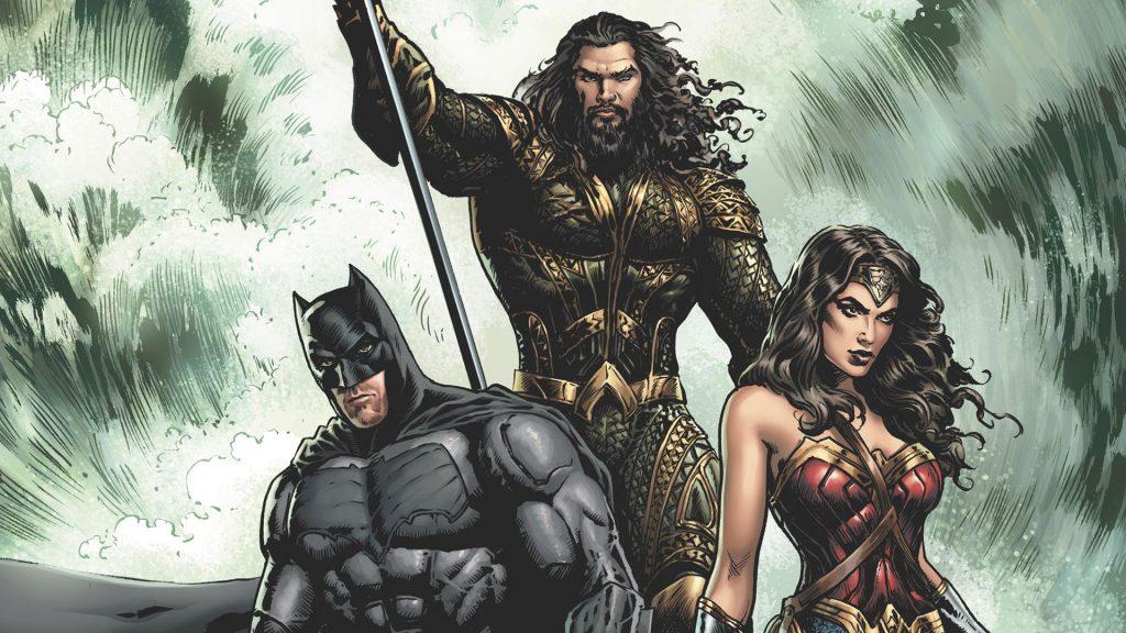 Justice League Aquaman Batman Wonder Woman Artwork Wallpaper