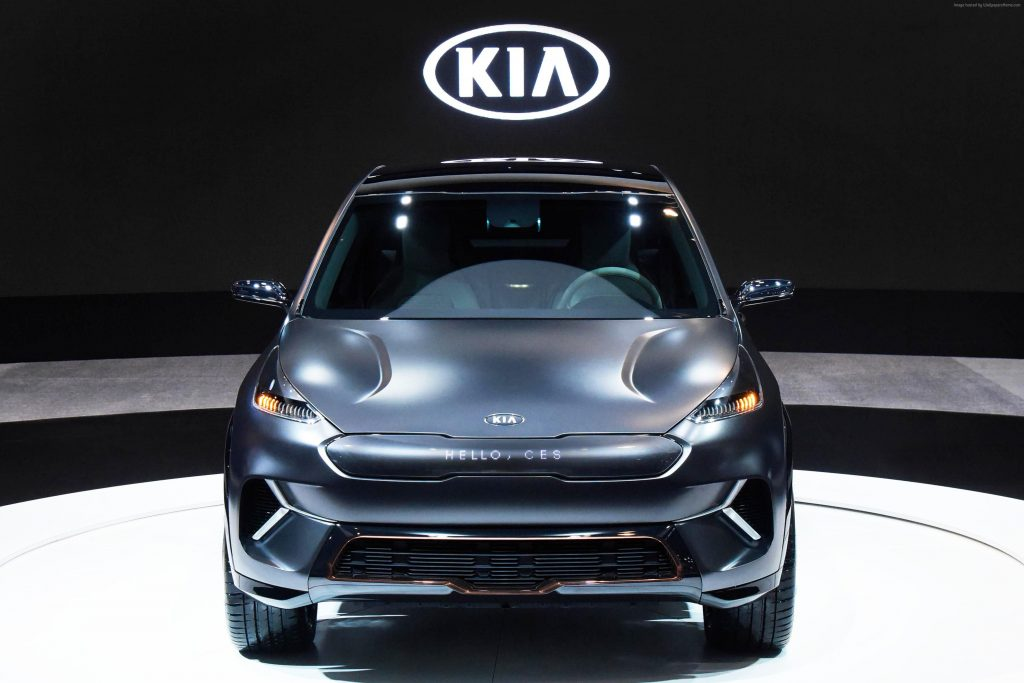 Kia Niro EV CES 2018 Electric Car Wallpaper