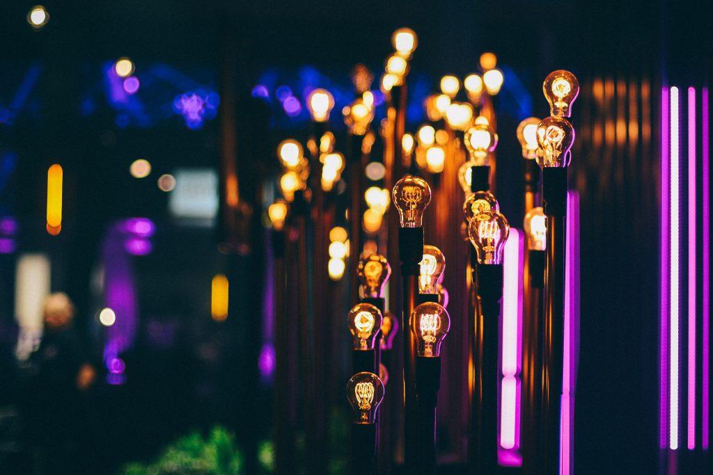 Lamps Lighting Blur Wallpaper