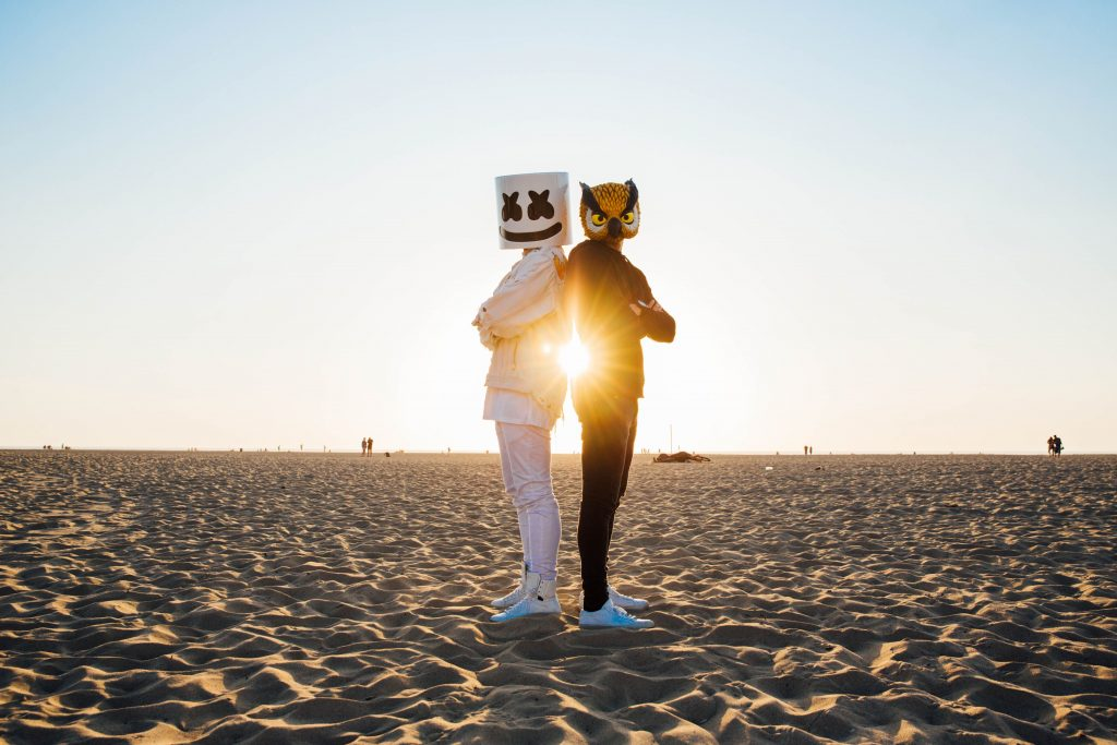 Marshmello and Evan Fong Wallpaper