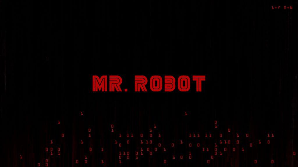 Mr. Robot Logo Wallpaper