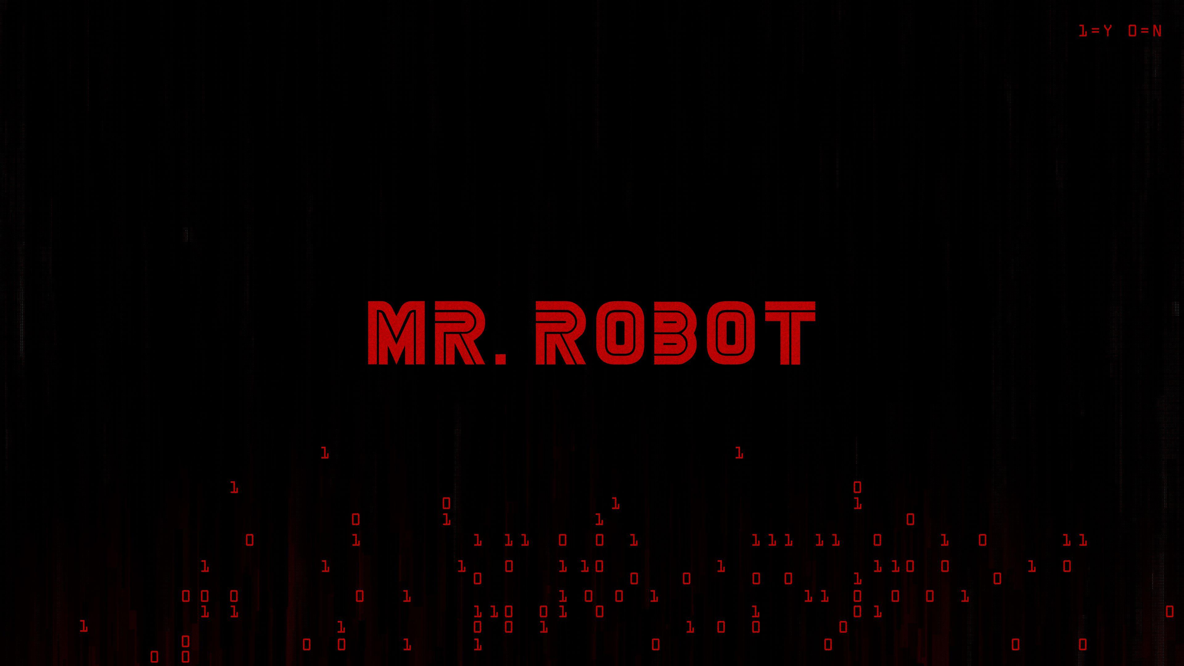 Mr Robot Logo Wallpaper